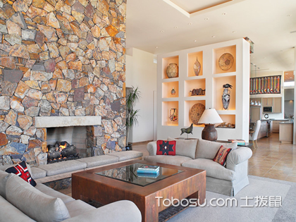 2018新款客厅隔断墙样式图片,这样才能隔出完美客厅空间