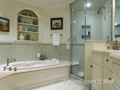 浴室装修效果图,百变浴室总有一款上心头