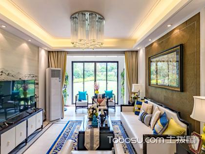 2018新中式客厅装修效果图,展示客厅传统古典大气之美