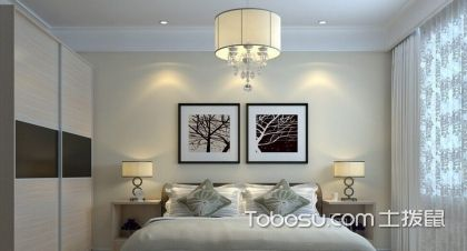 2018卧室床头墙上挂甚么风水画好