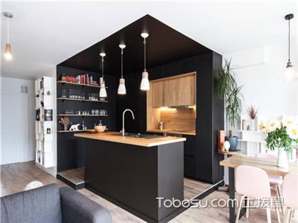开放式厨房装修案例,开放式厨房设计图片