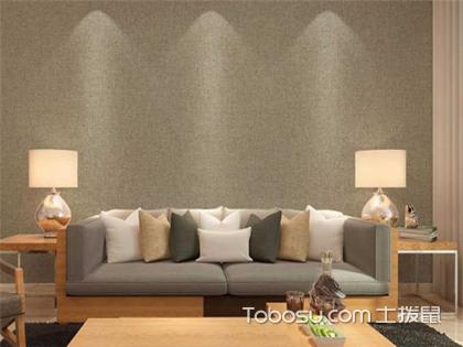 客厅贴什么墙布好看?注意到这些问题才能贴出好看的墙布