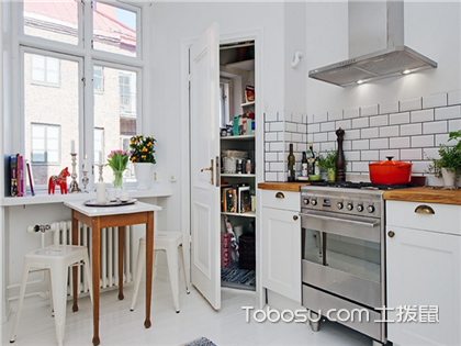 小戶型開放式廚房圖片,小戶型開放式廚房裝修設計效果圖