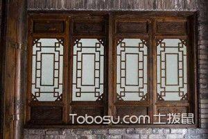仿古木门窗