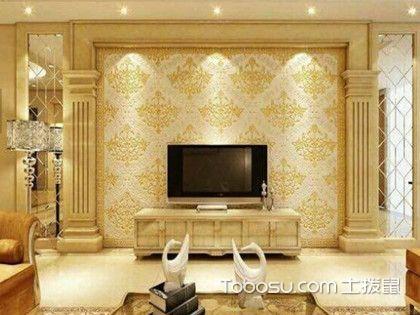 罗马柱电视墙效果图,电视墙还能这么装?