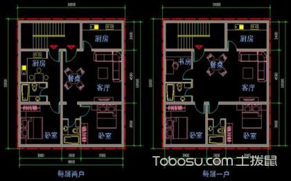 房屋平面设计图——房屋的平面设计图