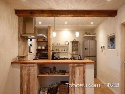半开放式厨房巧妙隔断如何设计?半开放式厨房隔断怎么样?