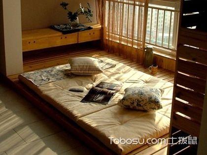 地台床与榻榻米的区别,分清地台床与榻榻米的区别很简单
