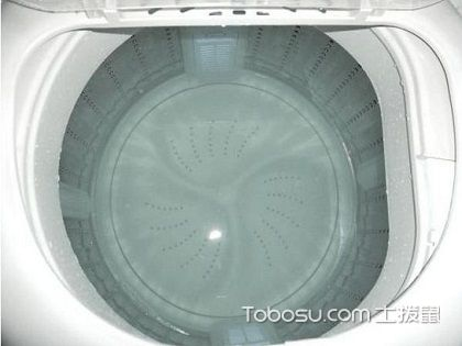 波轮洗衣机清洗,洗衣机也有干净的权利
