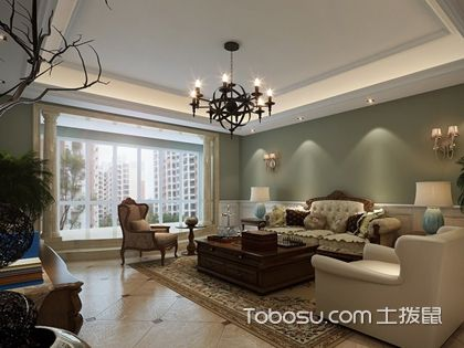 客廳吊頂圖片簡單大氣,客廳吊頂如何設計得簡單大氣