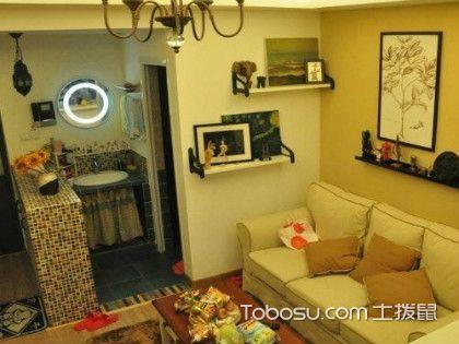 45平米二房一廳裝修圖,實例告訴你小戶型裝修方法