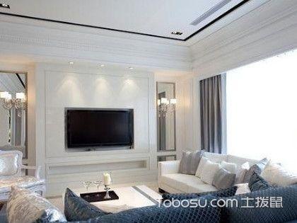 简单大方的电视墙图片,当下最热门的电视墙设计