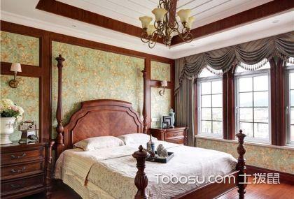 6款美式裝修風格臥室效果圖