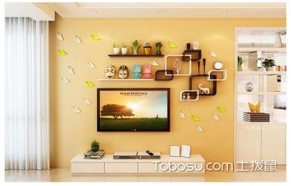 客厅卧室电视墙壁柜设计及效果图