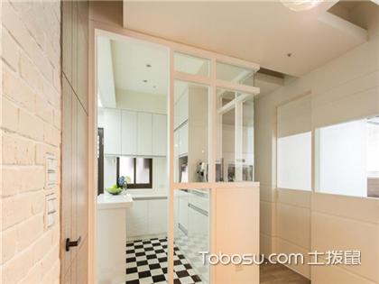 开放式厨房软帘隔断好不好?开放式厨房隔断有哪些方法?