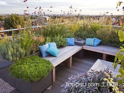 楼顶花园装修效果图,舒心休闲好去处