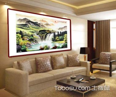 客厅挂什么山水画好 客厅装饰山水画风水禁忌