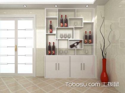 客厅装饰酒柜设计,客厅酒柜效果图