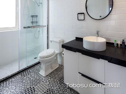 卫生间地砖效果图案例,教你如何搭配卫生间地面