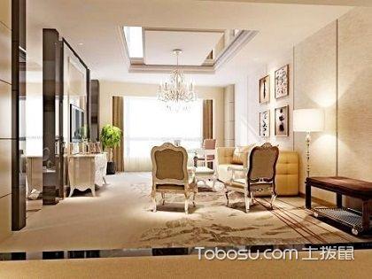 浪漫经典80平米欧式风格装修案例,轻奢优雅