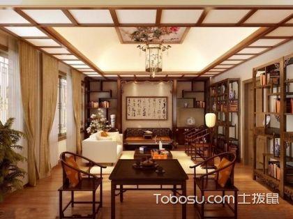 客厅博古架如何摆放中式风格魅力展现