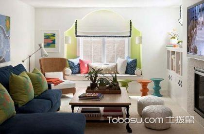 客厅超小飘窗设计,客厅超小飘窗装修案例