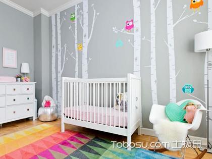 儿童房墙贴效果图展示,浅析儿童房的装饰小心机