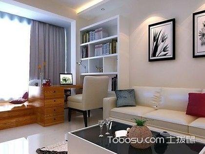 65平方二房一厅装修图,三口之家这样装修最合适