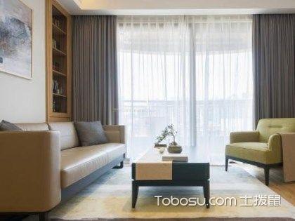 客厅窗帘图片欣赏大全,客厅挂什么颜色窗帘好?
