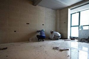 陶瓷地磚施工