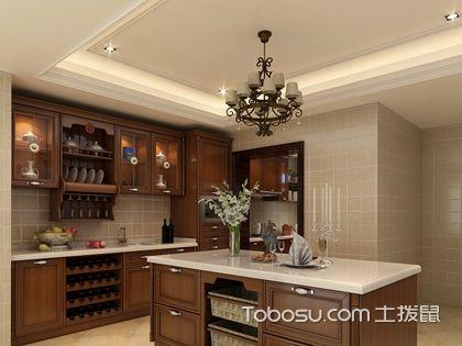 厨房柜子效果图,定制厨房柜子时要注意什么