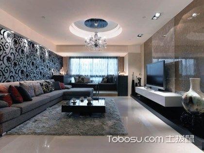 客厅墙布贴什么颜色好?哪种墙布比较环保?