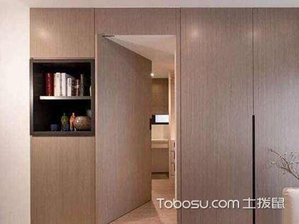 卫生间隐形门装修效果图,安装卫生间隐形门要注意哪些