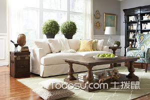 现代美式客厅设计