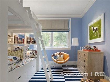 双胞胎女童房间装修,儿童房的家具应该怎样布置呢?