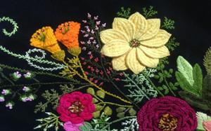 【刺绣】刺绣分类,使用材料,刺绣图案,应用,图片