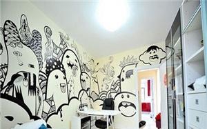 【手绘墙画】手绘墙画的特点_分类_怎么绘_图片