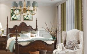 【室内美式风格软装】室内美式风格软装的分类_特点_元素_图片