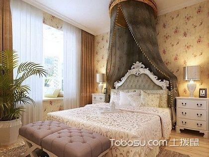 美式女生卧室装修图片,美式卧室装修注意事项