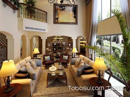 地中海风格客厅装修案例,自然风格的地中海式客厅