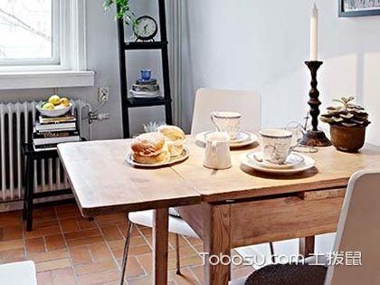 折叠餐桌有哪些优缺点,小户型必备的可伸缩折叠餐桌