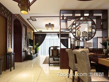 客厅餐厅隔断柜效果图,不同造型的客厅餐厅隔断柜设计