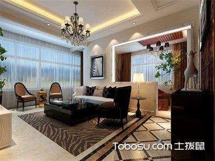 客厅造型顶效果图欣赏,吊顶设计要注意什么?