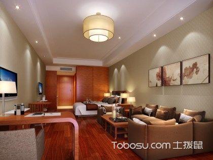 卧室客厅一体装修效果图欣赏,隔断方法介绍