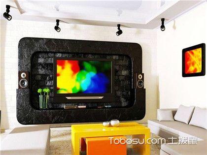 电视背景墙用什么材料好?客厅电视背景墙装修材料分析