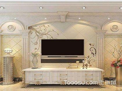 高端大气电视墙效果图,客厅电视墙装修大全图片