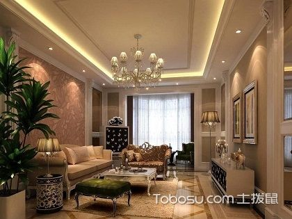 客厅天花板吊顶效果图,客厅天花板吊顶有哪些注意事项