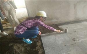 【石材地面施工】石材地面施工的准备_流程_验收_图片