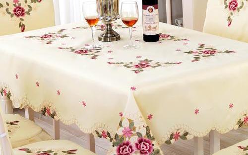 【餐桌台布】餐桌台布材质,餐桌台布选购,价格,图片
