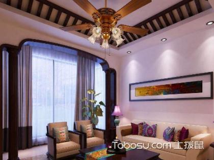 客厅装吊扇灯好不好?客厅装吊扇灯优点有哪些?
